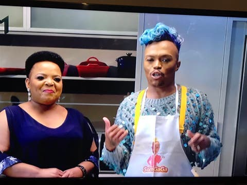 Rebecca Malope was on fire last night on Dinner at Somizi